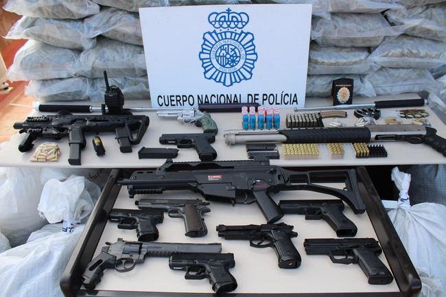 Policía Nacional triplica los kilos de marihuana intervenidos durante los seis primeros meses del año