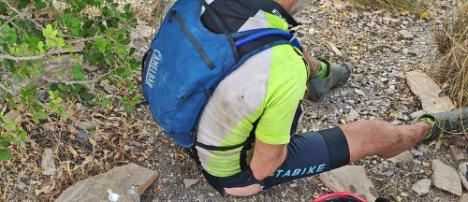 La Policía Local de Mojácar salva la vida a un ciclista perdido en Sierra Cabrera