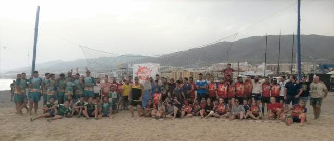 El Circuito Provincial de Rugby Playa se desplaza a Pulpí
