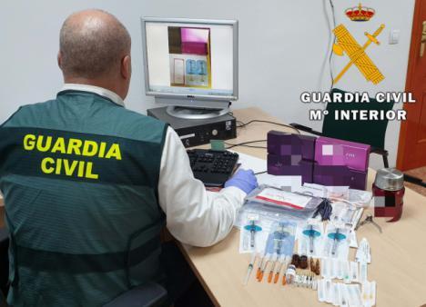 Detenida en Garrucha una rusa que venía del Reino Unido a realizar operaciones estéticas con productos caducados