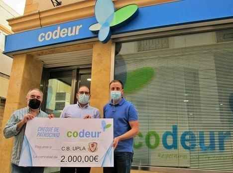 Codeur patrocina con 2.000€ al CB Unión de Pueblos del Levante Almeriense