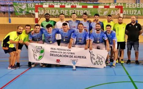 El Poli Ejido se alza 'supercampeón' al llevarse la Supercopa de Almería (4-1)