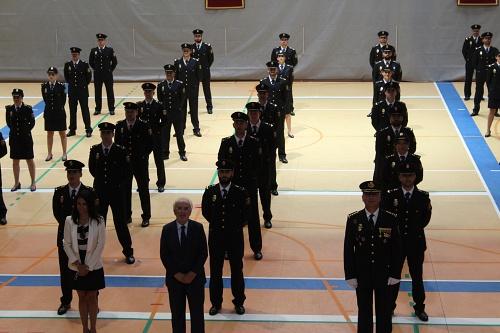 Juran 44 nuevos efectivos de la Policía Nacional