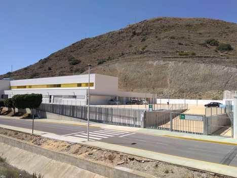 Ciudadanos de Carboneras reclama que se finalice el patio infantil proyectado en el CEIP Simón Fuentes