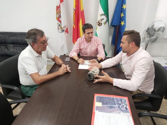 Diputación y Chirivel analizan soluciones para modernizar las redes de abastecimiento