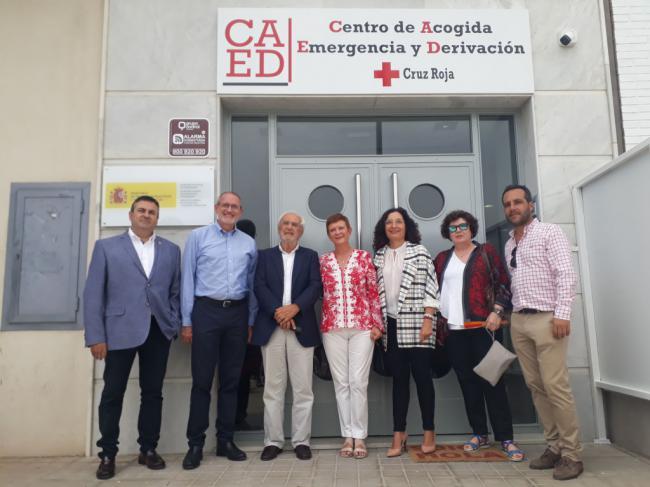 Almería estrena un Centro de Acogida de Emergencia para 200 personas