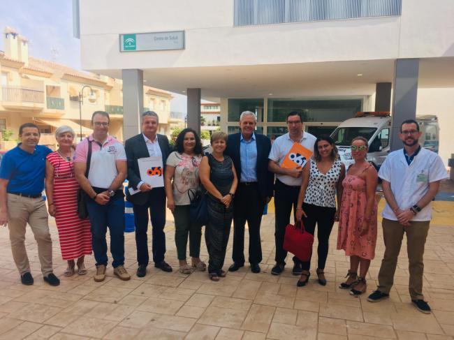 Supervisan las futuras instalaciones del 061 en el Área Sanitaria Norte en Vera