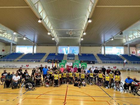 El AMIVEL de Málaga se proclama en Vera campeón de la XXXIII Copa Andaluza de Baloncesto en Silla de Ruedas