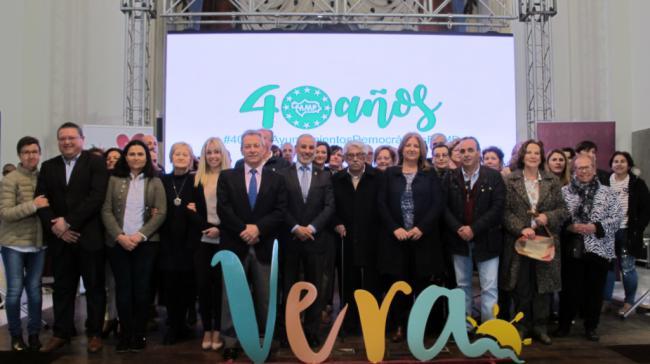 El municipalismo almeriense se cita en Vera en la presentación de un documental