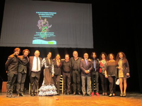 """Manuela Carrasco, Premio Internacional de Flamenco """"Ciudad de Vera"""""""