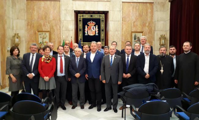 El subdelegado mantiene un encuentro con representantes institucionales de Rumanía