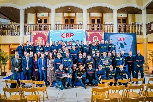 El Consorcio de Poniente reconoce el trabajo de los bomberos