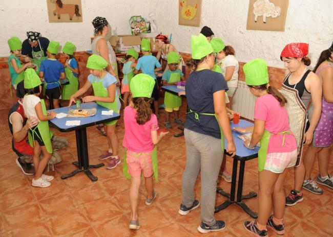 Almerienses en el campamento inclusivo de la ONCE