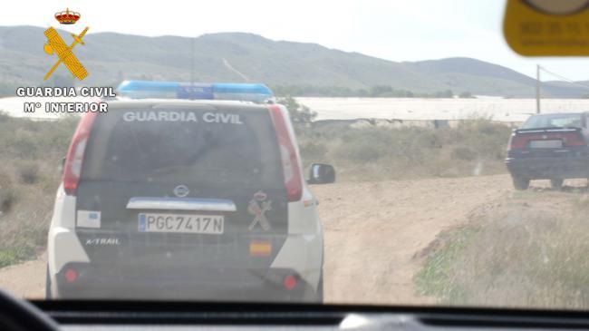 Detenido por robar alambre valorado en 1.800 euros