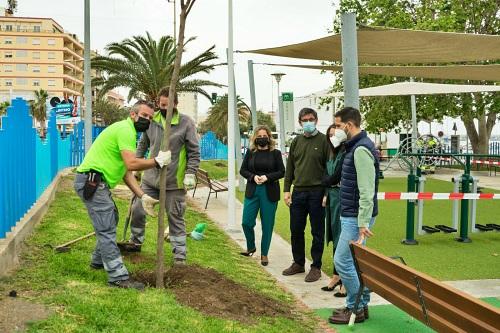 El Plan Savia de Diputación hace de Adra una ciudad más sostenible