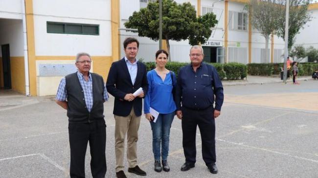 Junta invierte más de 560.000 euros en el CEIP 'Solymar' de Matagorda