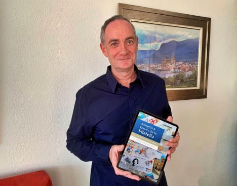 El IEA de Diputación publica en formato virtual el primer libro sobre el patrimonio filatélico almeriense