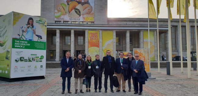 Diputación arropa a los empresarios del 'AGRO' almeriense en la Feria Fruitlogística