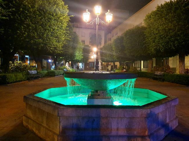 Almería se tiñe de verde para visibilizar las enfermedades mitocondriales