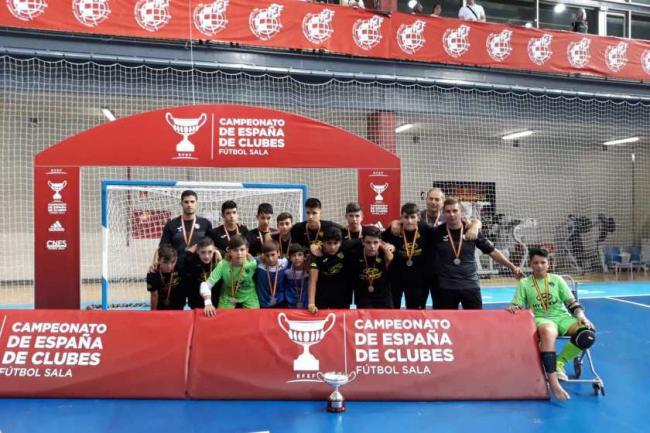El Infantil Sala del CD El Ejido, Subcampeón de España
