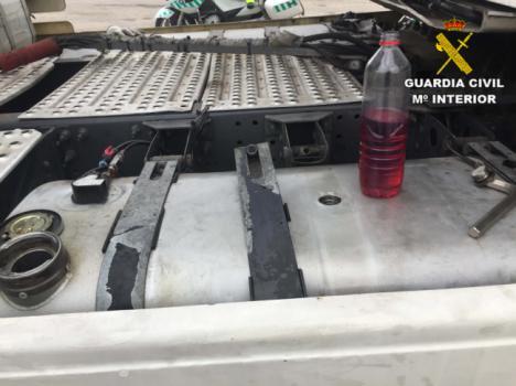 La Guardia Civil detecta en Almería 45 infracciones con gasoil bonificado