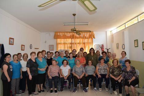 Los talleres de gimnasia de mantenimiento para mayores de Níjar despiden hasta octubre