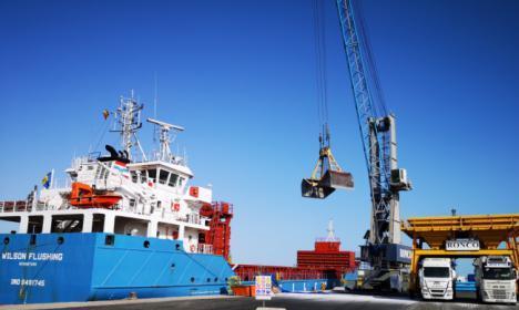 El Puerto de Almería incrementó las exportaciones más de un 45% en septiembre