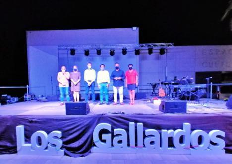 Diputación arropa en Los Gallardos al Movimiento Cultural 'Echa a volar'