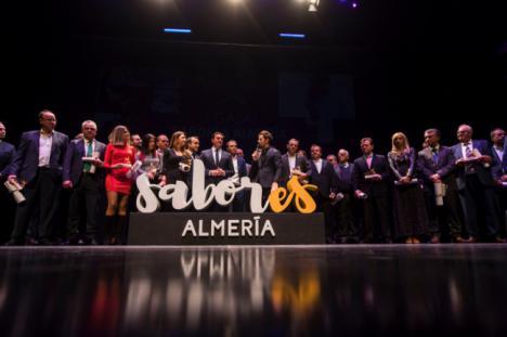 David Bisbal participa en la entrega de las distinciones de 'Sabores Almería'