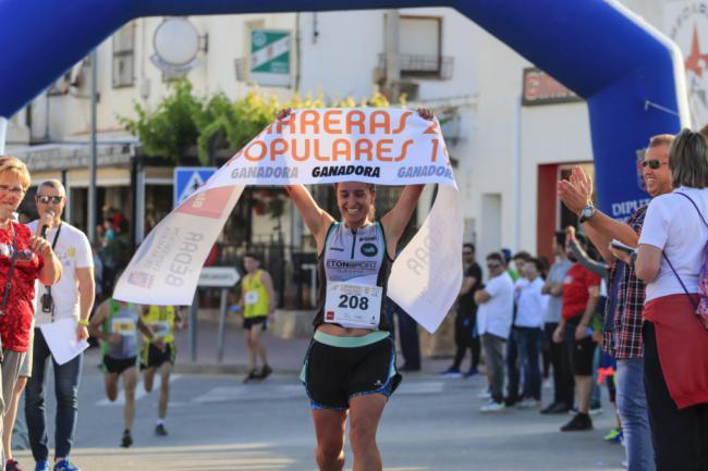 Antas acoge la cuarta prueba del Circuito Provincial de Carreras Populares
