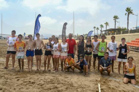 Finaliza la Copa Diputación de Tenis Playa en San Juan de los Terreros
