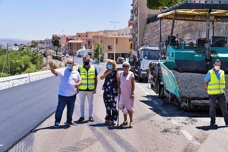 Diputación renueva el acceso principal a Gádor