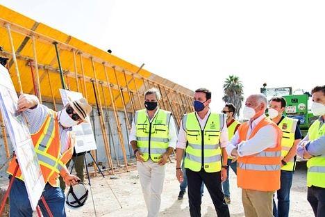 Diputación inicia el puente que conectará Roquetas con Vícar y La Mojonera