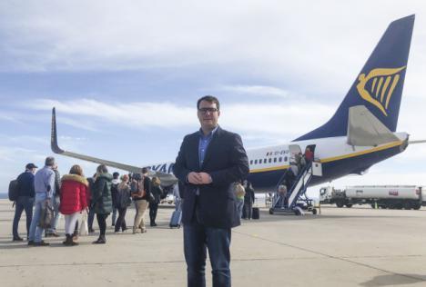 'Costa de Almería' estrena la conexión con Milán
