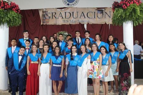 """Graduación en el IES """"Mar Serena"""" de Pulpí"""