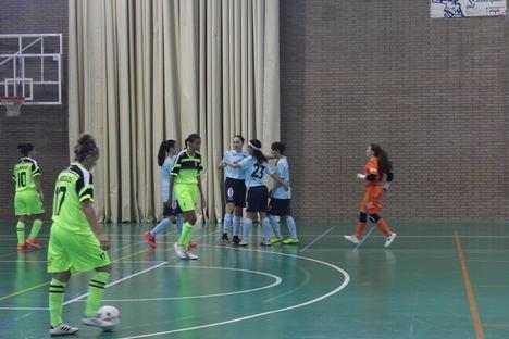 El equipo femenino de fútbol sala de El Ejido vence al Alcantarilla