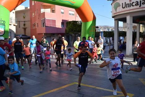 Gran participación en la Carrera Urbana de Orientación Familiar de la Feria de Gádor