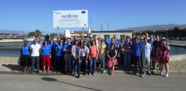 Concluye en El Toyo el proyecto Incover de transformación de agua residual en energía