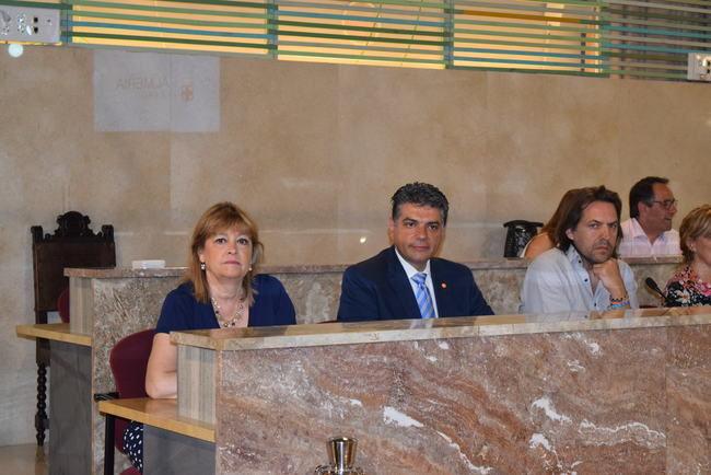 Ciudadanos pide que la Diputación compense el Ayuntamiento de Almería por 20 años apagando fuegos