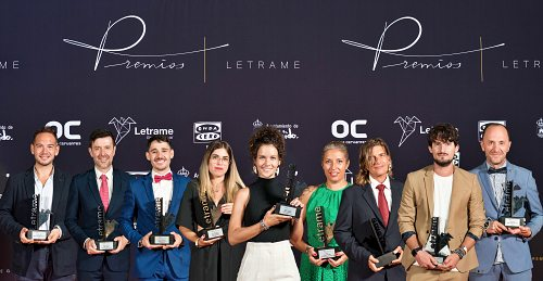 Letrame celebra la noche de las letras en su I Gala de Premios