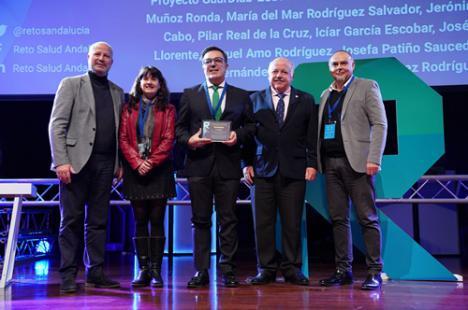 El proyecto Guardiab- ESD del Distrito Sanitario Almería premiado en el II Reto en Salud
