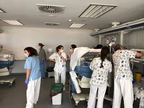 Torrecárdenas traslada la UCI de Pediatría al Hospital Materno Infantil