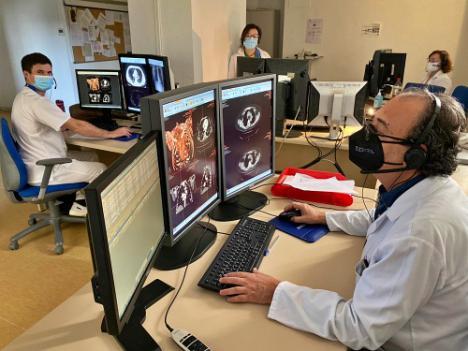 Radiología de Torrecárdenas incorpora videoconferencia a la docencia