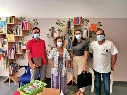 Inicio del curso escolar en las aulas del Hospital Materno Infantil Torrecárdenas