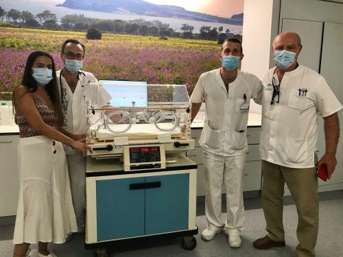 Torrecárdenas dona seis incubadoras a un hospital saharaui