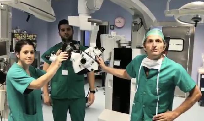 Nuevo microscopio quirúrgico de última generación en Torrecárdenas
