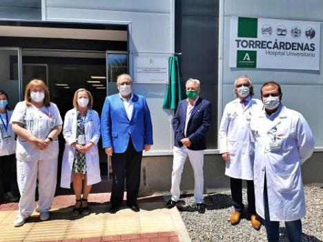 El gerente del SAS inaugura las instalaciones de Anatomía Patológica de Torrecárdenas