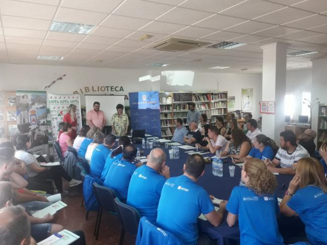 Diputación a Fiñana con 'Hoy con los autónomos de Almería'