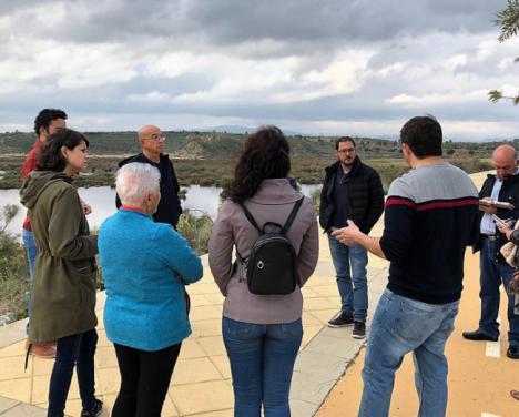 Adelante Andalucía incluirá el humedal Salar de los Canos en la red andaluza