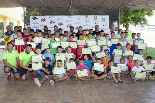 Sesenta jóvenes participan en el I Campus de Fútbol Comarca de Níjar